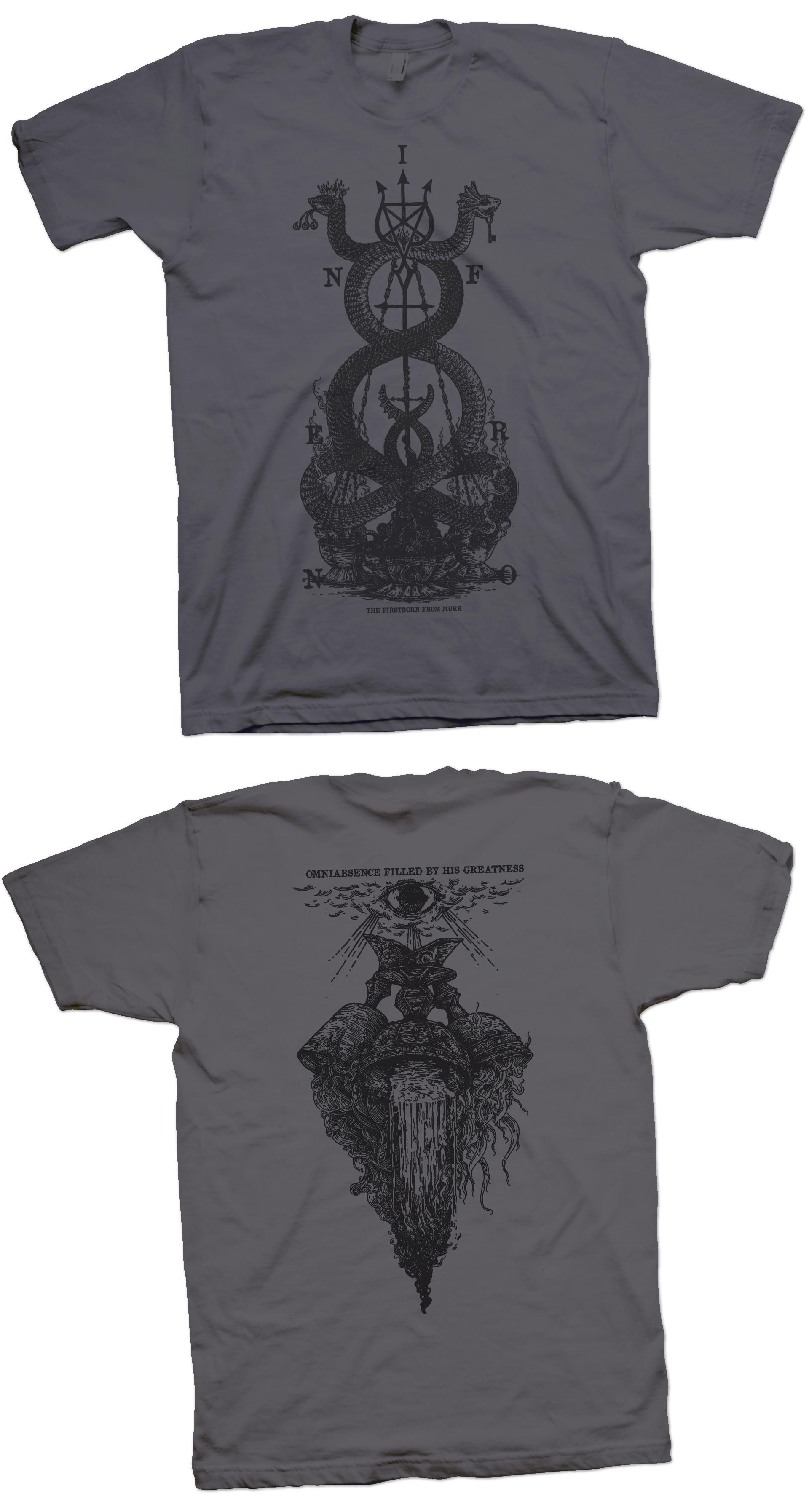 Inferno - The Firstborn From Murk (dark grey) TS