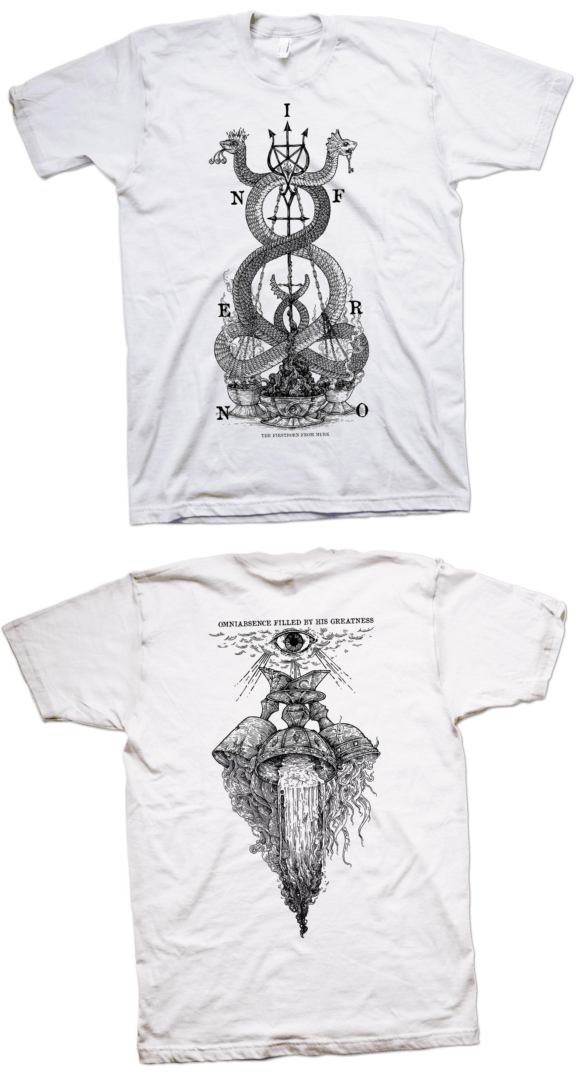 Inferno - The Firstborn From Murk (white) TS