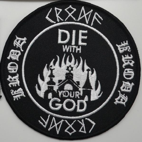 Kroda - Die With your God Patch